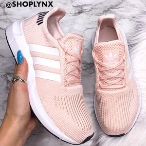 Adidas Women's Swift Run in Ice Pink